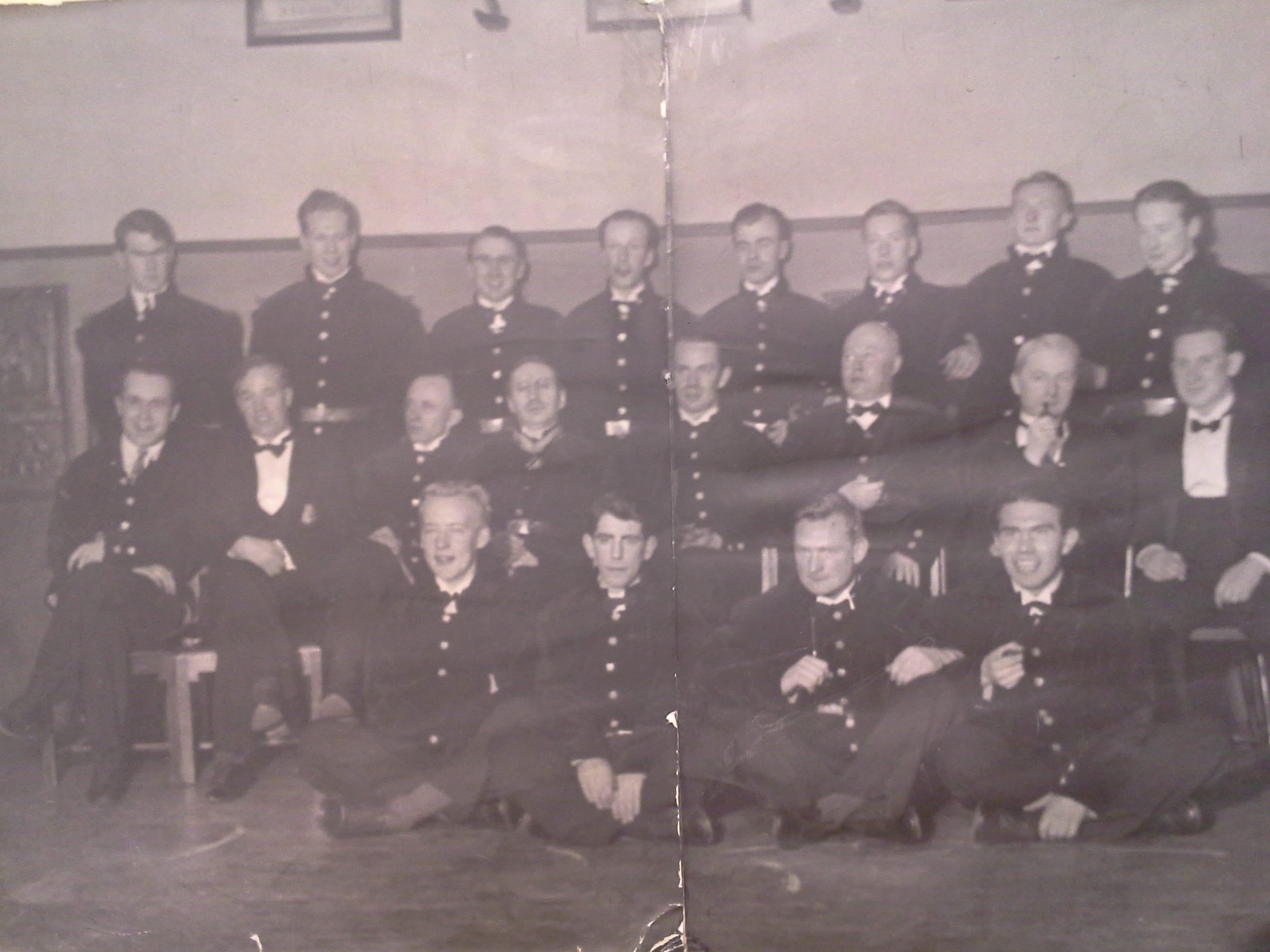 Bergstudenter med Dosent Carstens på slutten av 30-tallet