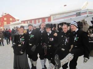 I Røros under Martnan 2011